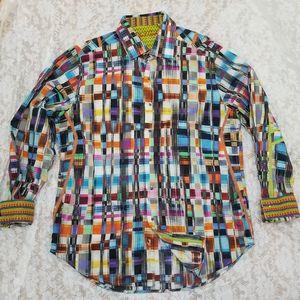 Robert Graham Limited Edition White Cape Rod Shirt
